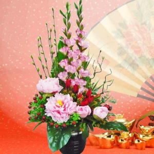 Chinese New Year Artificial Flowers Delivery