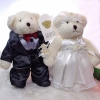 Add-on 9 Inches Wedding Bears (Couple)