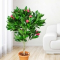 Artificial Flowering Plant 100cm Height