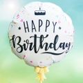 "Add-on 5"" Happy Birthday Balloon"