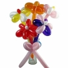 Balloon Flowers In Glass Vase About 70cm Height