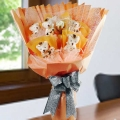 6 Mini Bears ( 10cm ) Hand Bouquet