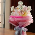 6 Mini Bear ( 4 inches ) Bouquet