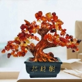 Bonsai Agate Feng Shui Crystal Tree 15cm Height