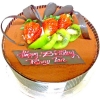 Add-On Chocolate Mousse Cake 1Kg
