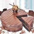 Belgian French Chocolate Cake 1.2 Kg ( Best Seller )