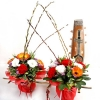 Twin New Year Flower Arrangement