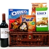 Australia Red Wine with Assorted Chocolates and Crackers/Bisc