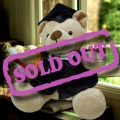 Add-on 13'' Sitting Graduate Bear