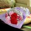 6 Mixed Carnation Small Hand Bouquets Delivery