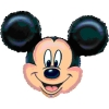 Add-on Helium filled 24 inches (Mickey-Mouse) Mylar Balloon