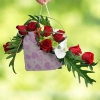 Orchids & Roses Special Hand Bag Bouquet