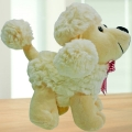Add-On plush poodle doll dog 9 inches Height