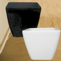 Add-On Fiberglass Planter 35x35xH33cm (Chose One Color Only)