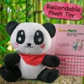 Add-On Voice Recordable Panda 7 inches Height