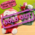 3 Mixed Roses and 6 Inches Plush Toy with Voice Recorder