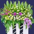Sympathy Flowers Delivery 5 Ft x 6 Ft Height