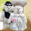 "Add-On 8"" WEDDING Day Bride & Groom Teddy Bears"