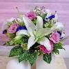 Casablanca Lilies & Eustoma Pink Bouquet