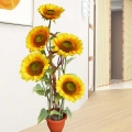 Artificial SunFlowers Plant 5 Feet Height