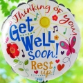 "Add-On Get Well Soon 9"" Balloon"