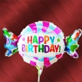 Add-on Sweet Shape Happy Birthday 9 inches foil balloon