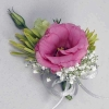Pink Eustoma Corsage.<br>
