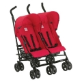 INGLESINA Twin Swift Twin Double Stroller - Red Color